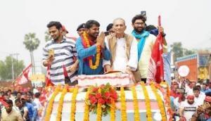 कन्हैया कुमार के नामांकन में पहुंचीं स्वरा भास्कर, राजनीति में आने को लेकर दिया बड़ा बयान
