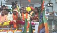 UP CM Yogi Adityanath rallies in Amethi as Smriti Irani files nomination