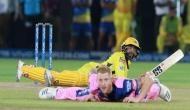 IPL 2019: जडेजा ने मारा छक्का, खुद गिरे.. गेंदबाज भी गिरा और चेन्नई ने जीत लिया मैच, देखें वीडियो