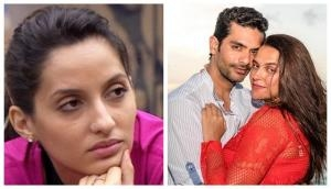 Nora Fatehi has a shocking thing to say about her break up with Angad Bedi, Neha Dhupia's husband!