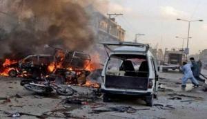 पाकिस्तान में चेक पोस्ट के पास बम ब्लास्ट, तीन सुरक्षाकर्मियों की मौत दो घायल