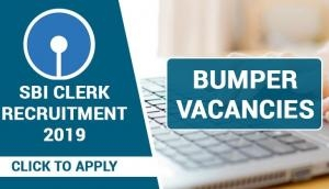 SBI Clerk Recruitment 2019: Huge vacancies out for over 8000 posts; apply now