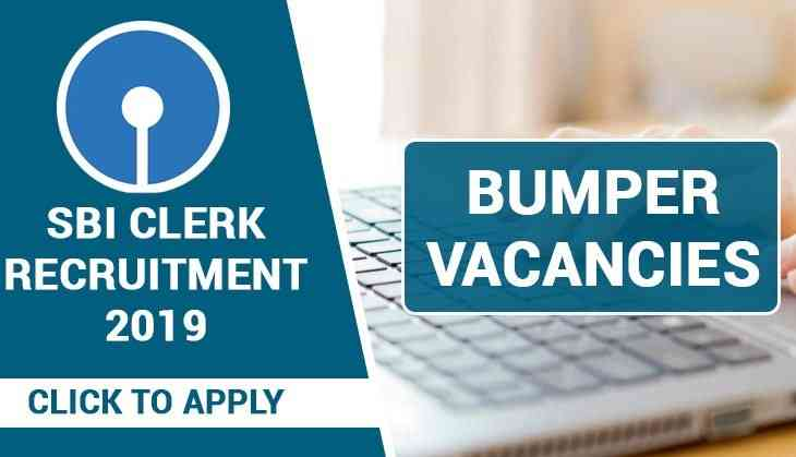 SBI Recruitment 2019: Alert! Apply for multiple Specialist Officer posts before last date; selection through interview
