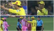 Watch: MS Dhoni lost his cool and went on field to fight with umpires, Ben Stokes, Ajinkya Rahane