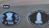 100 रूपये का नया सिक्का जारी, शहीदों को दी श्रद्धांजलि