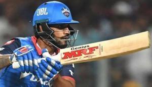इस खिलाड़ी ने धवन को नहीं बनाने दिया IPL में उनका पहला शतक, 97 रन पर लौटना पड़ा नाबाद
