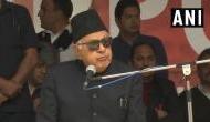 फारुक अब्दुल्ला का बयान- 'हिंदुस्तान तोड़ना चाहता तो हिंदुस्तान होता ही नहीं'