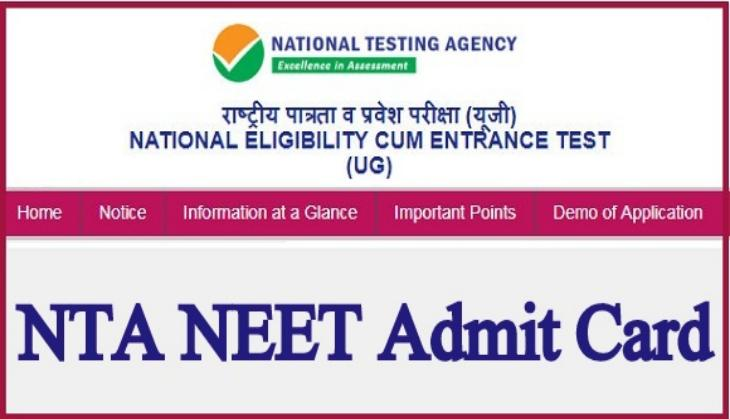 NEET Admit card 2019: Get ready to download your medical entrance exam hall tickets today; know at what time
