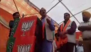 Video: BJP नेता ने कांग्रेस अध्यक्ष को दी मां की गाली, बोले- 'चौकीदार चोर है तो राहुल गांधी....'