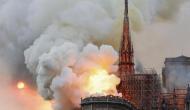 पेरिस के 800 साल पुराने ऐतिहासिक चर्च में लगी भीषण आग