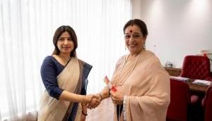 लखनऊ: राजनाथ सिंह के खिलाफ चुनाव लड़ेेंगी शत्रुघ्न सिन्हा की पत्नी पूनम सिन्हा