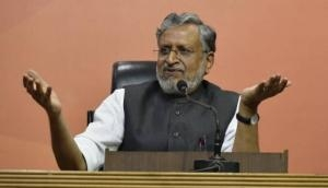 Sushil Modi attacks Cong, RJD over RS ruckus, terms treatment meted out to Deputy Chairman as 'insult of every Bihari'