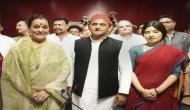 Poonam Sinha files nomination from Lucknow