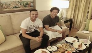 Sachin Tendulkar hosts Prithvi Shaw for dinner, another 'little master' in making; see pictures