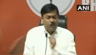 Watch: Man hurls shoe at BJP spokesperson GVL Narasihma Rao during press conference