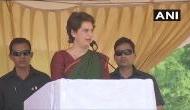 Priyanka Gandhi slams BJP led NDA govt; says it 'betrayed' people who voted them to power
