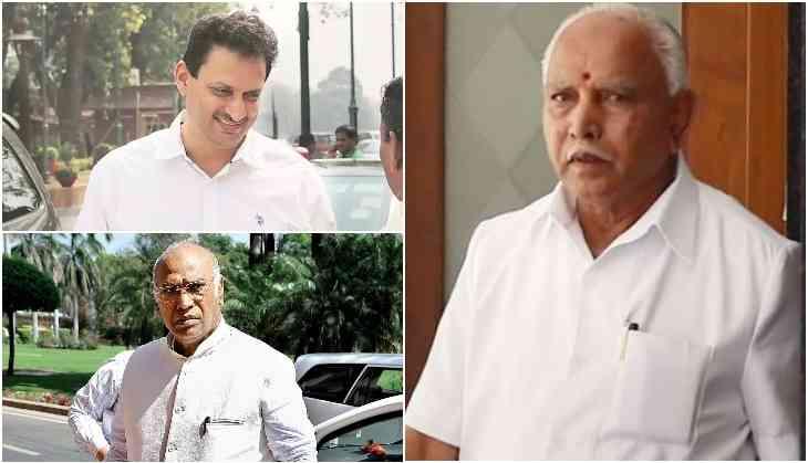 Kharge, BSY's son, AK Hegde add spice to third phase poll in Karnataka