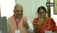 Amit Shah casts vote, urges people to vote for country's security