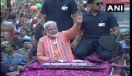 Video: PM मोदी का काशी में भव्य रोड शो शुरू, भीड़ देख विपक्षी पार्टियों की उड़ जाएगी नींद