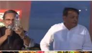 TV लाइव शो में BJP नेता गटक गए गंदा गंगा जल, बोले- ये इटालियन लोग...