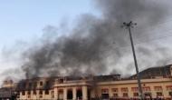 ग्वालियर रेलवे स्टेशन पर लगी भीषण आग, यातायात बाधित होने से यात्रियों को हुई परेशानी
