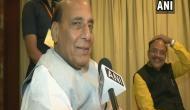 Rajnath Singh claims NDA to get two third majority in Lok Sabha