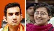 गौतम गंभीर ने आतिशी मार्लेना, अरविंद केजरीवाल और मनीष सिसोदिया को भेजा मानहानि का नोटिस