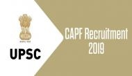 UPSC CAPF Recruitment 2019: Deadline! Application process for multiple posts to ends today; check how to apply, salary details