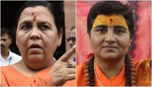 Uma Bharti on comparison with Sadhvi Pragya: She is a great saint