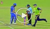 Watch: Rohit Sharma displays unruly behaviour, breaks stumps after given out in IPL