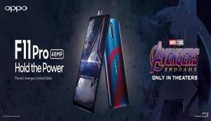 Avengers Endgame: OPPO Announces Exclusive F11 Pro Marvel's Avengers Limited Edition in Cooperation With Marvel Studios'