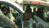 BJP सांसद पर हमला कर तोड़ी कार, मीडिया कर्मियों के साथ भी TMC कार्यकर्ताओं ने की बदसलूकी