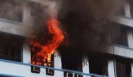 Delhi: Fire at 10-storeyed residential building in Pitampura, firemen rescue 100 residents