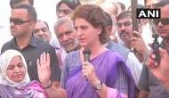 Priyanka Gandhi accuses BJP of sending bribes of Rs 20,000 to village headmen in Amethi