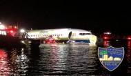अमेरिका के सेंट जॉन नदी में गिरा बोइंग-737 विमान, 136 लोगों की अटकी जान