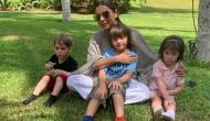 Gauri Khan spends time with AbRam, Yash and Roohi; SRK comments 'Maa Tujhe Salaam'