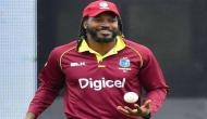 Chris Gayle shows his support ahead of India-Pakistan World Cup clash; see pics