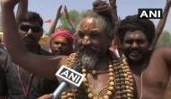दिग्विजय के प्रचार में उतरे बीजेपी से मंत्री का दर्जा पाने वाले कंप्यूटर बाबा, कहा- मंदिर नहीं तो मोदी नहीं
