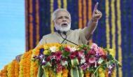 Congress arrogant , the nation is saying 'ab bahut hua' : PM Modi