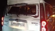पश्चिम बंगाल में बीजेपी नेता दिलीप घोष और हेमंत बिस्वा के काफिले पर हमला