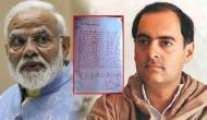 Amethi man writes letter in 'blood' to Election Commission over Modi's remark against Rajiv Gandhi