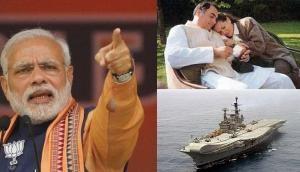 'राजीव गांधी ने INS विराट पर सोनिया गांधी के साथ मनाया था पिकनिक, देश की सुरक्षा के साथ खिलवाड़'