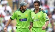 Shoaib Akhtar backs Shahid Afridi, says senior players wanted to beat him with bat