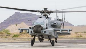 भारतीय वायुसेना को मिला पहला अपाचे हेलिकॉप्टर, दुश्मन को देगा मुंह तोड़ जवाब