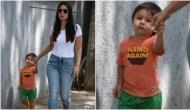 Fact Check: Know the truth behind Kareena Kapoor's son Taimur wearing 'Namo Again' t-shirt