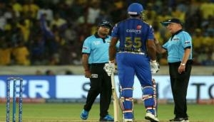IPL 2019: Kieron Pollard fined for showing dissent to umpire