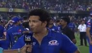 IPL 2019: Key moment was Dhoni run-out, says Sachin Tendulkar