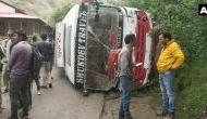 Kullu: Bus carrying BJP workers overturns, 7 injured