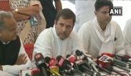 Rahul Gandhi, Ashok Gehlot meets Alwar gang rape victim