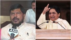 Unmarried Mayawati doesn't know family values, and how to handle husband: MP Ramdas Athawale